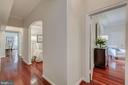 Enry hall, hardwood floors throughout - 2101 CONNECTICUT AVE NW #A, WASHINGTON