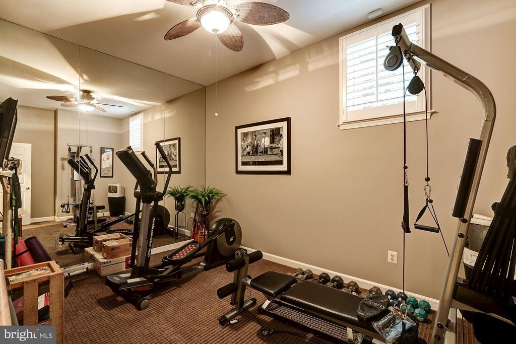 Fitness Room - 9081 EATON PARK RD, GREAT FALLS