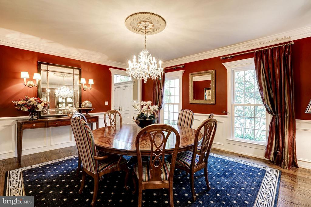 Dining Room - 9081 EATON PARK RD, GREAT FALLS