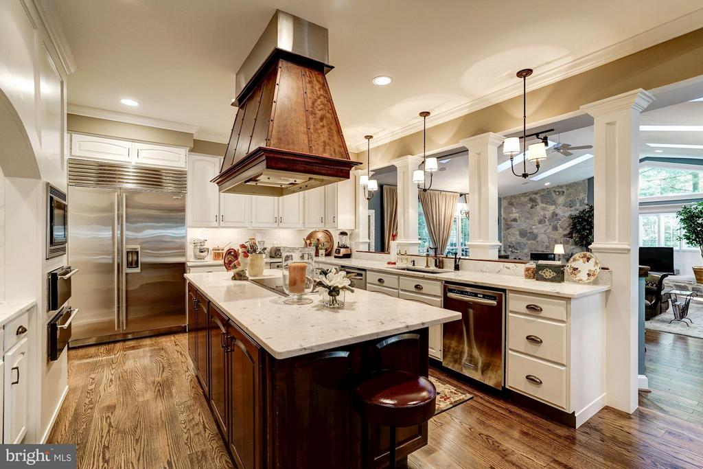 Kitchen - 9081 EATON PARK RD, GREAT FALLS