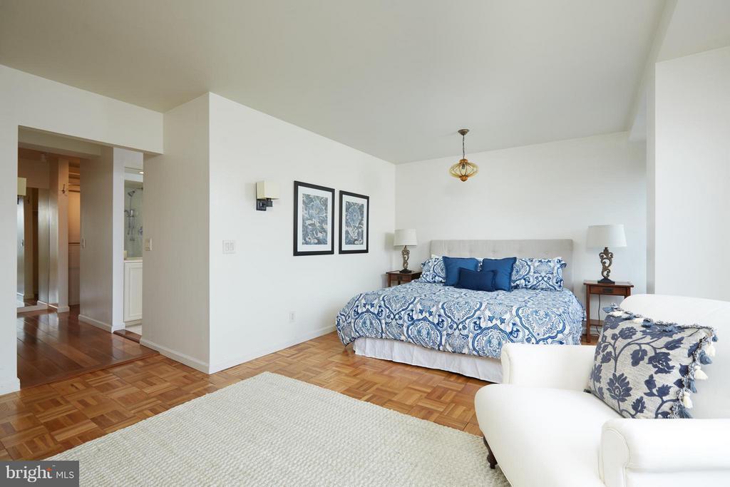 Bedroom (Master) - 2475 VIRGINIA AVE NW #602-603, WASHINGTON