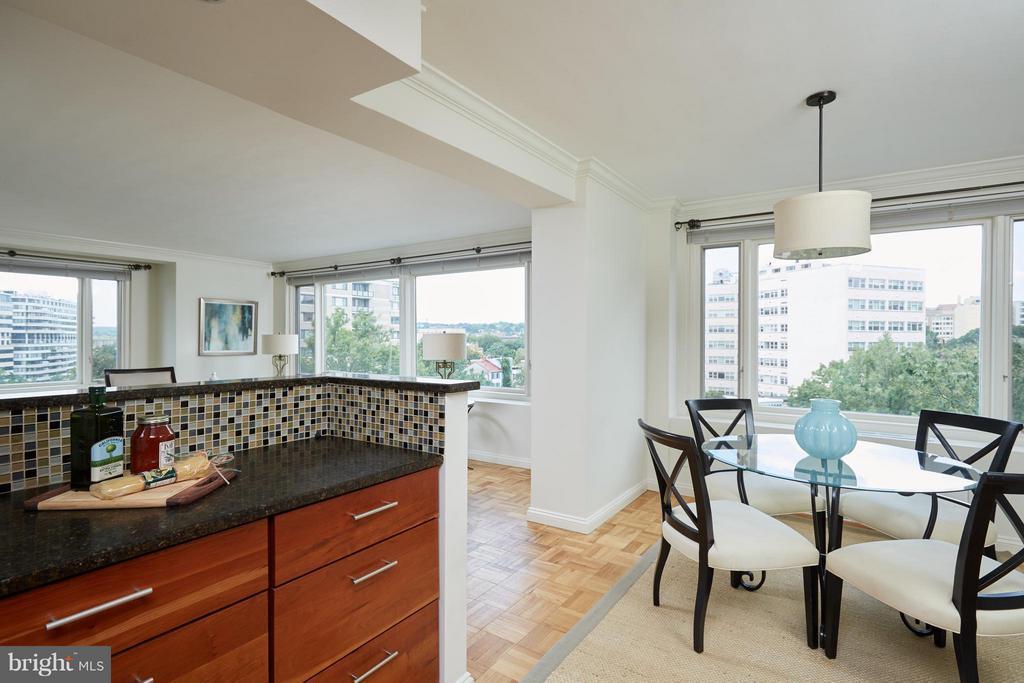 Kitchen/Dining Room - 2475 VIRGINIA AVE NW #602-603, WASHINGTON