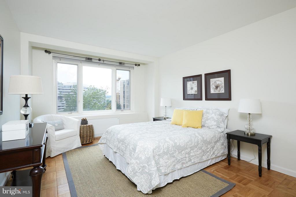 Bedroom - 2475 VIRGINIA AVE NW #602-603, WASHINGTON