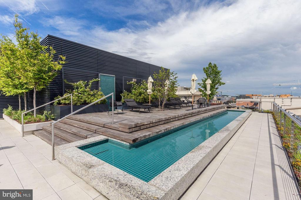 Rooftop Pool - 920 I ST NW #1006, WASHINGTON