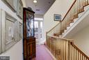 Hallway to Grand 3rd Level Exterior Deck - 2121 S ST NW, WASHINGTON