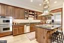 Gourmet chef's kitchen - 2121 S ST NW, WASHINGTON
