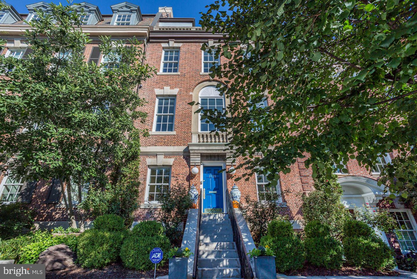 Single Family Home for Sale at 2121 S St NW 2121 S St NW Washington, District Of Columbia 20008 United States