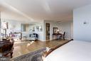 Sunny Top Level Loft Bedroom - 2121 S ST NW, WASHINGTON