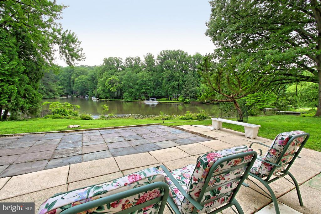 Lake View from the Rear Patio - 6519 DEARBORN DR, FALLS CHURCH