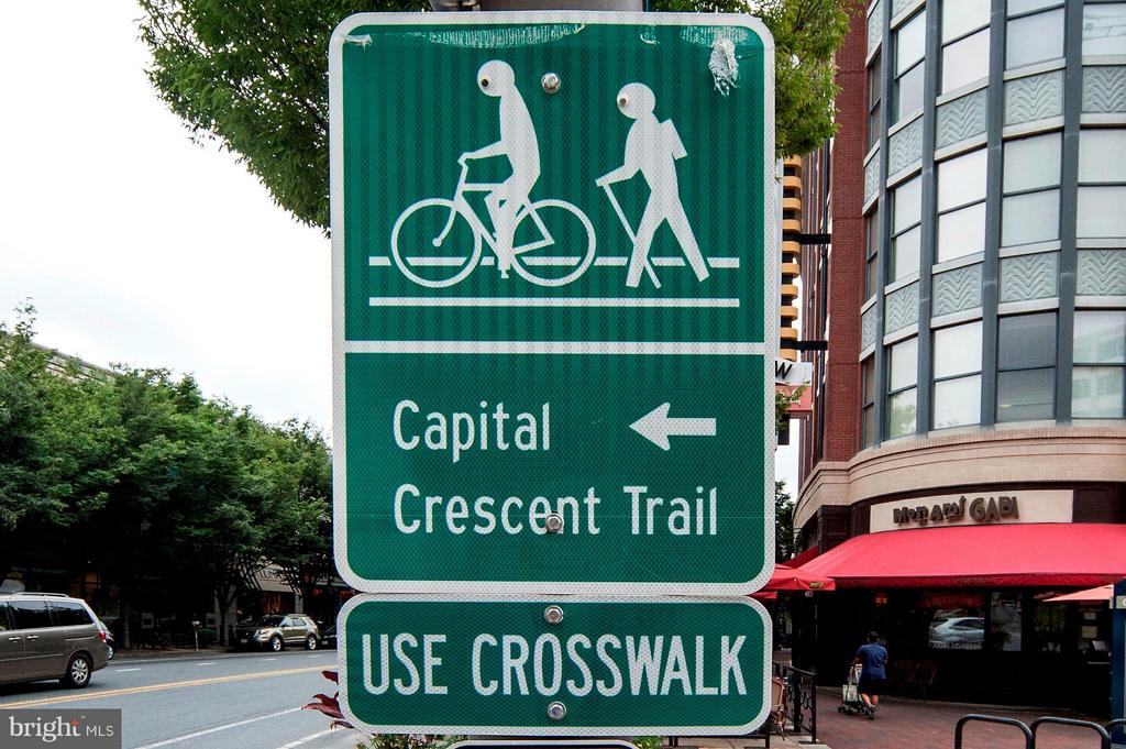 Crescent Trail Access Across the Street - 7171 WOODMONT AVE #506, BETHESDA