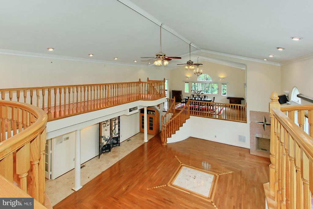 Overlooking the Great Room - 6519 DEARBORN DR, FALLS CHURCH