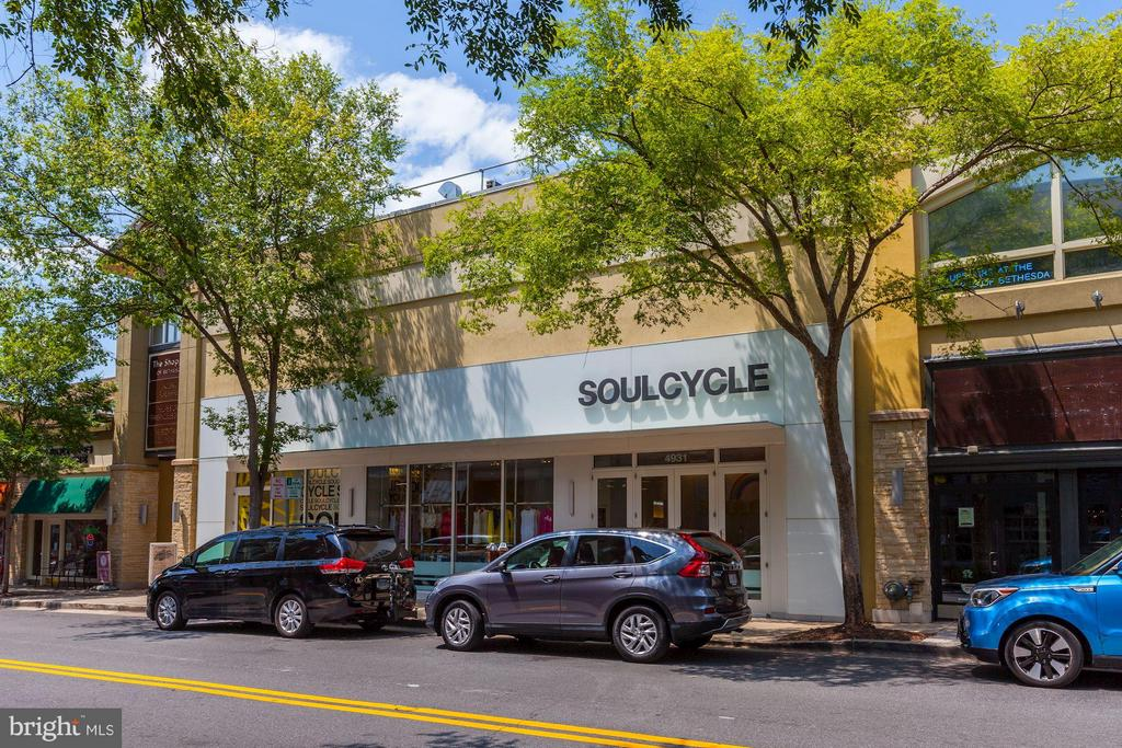 Many health and fitness options close by! - 7171 WOODMONT AVE #506, BETHESDA
