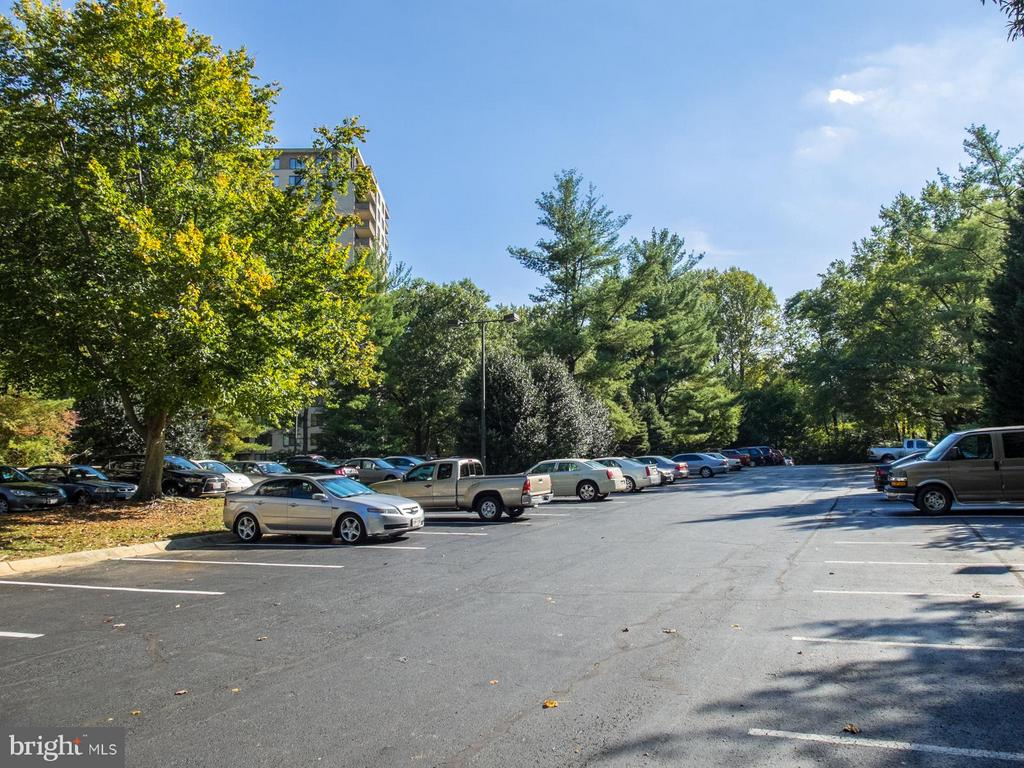 Guest parking - 5225 POOKS HILL RD #714S, BETHESDA
