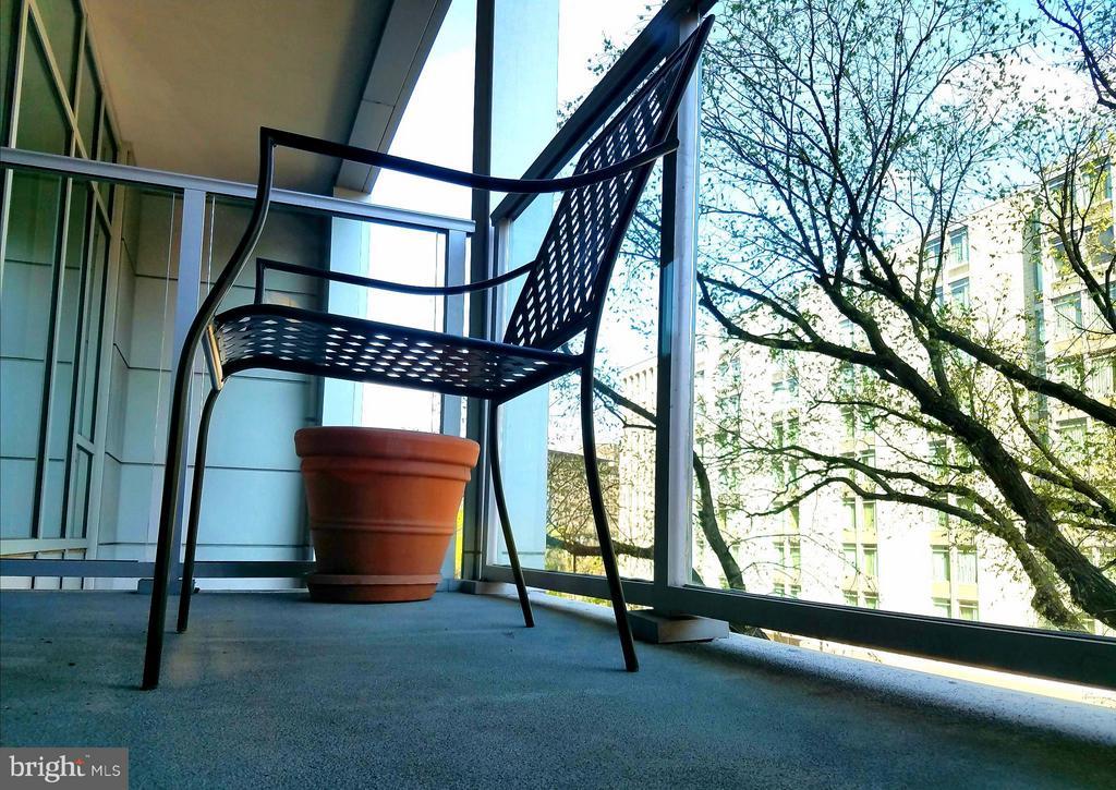 Balcony - 1177 22ND ST NW #3F, WASHINGTON