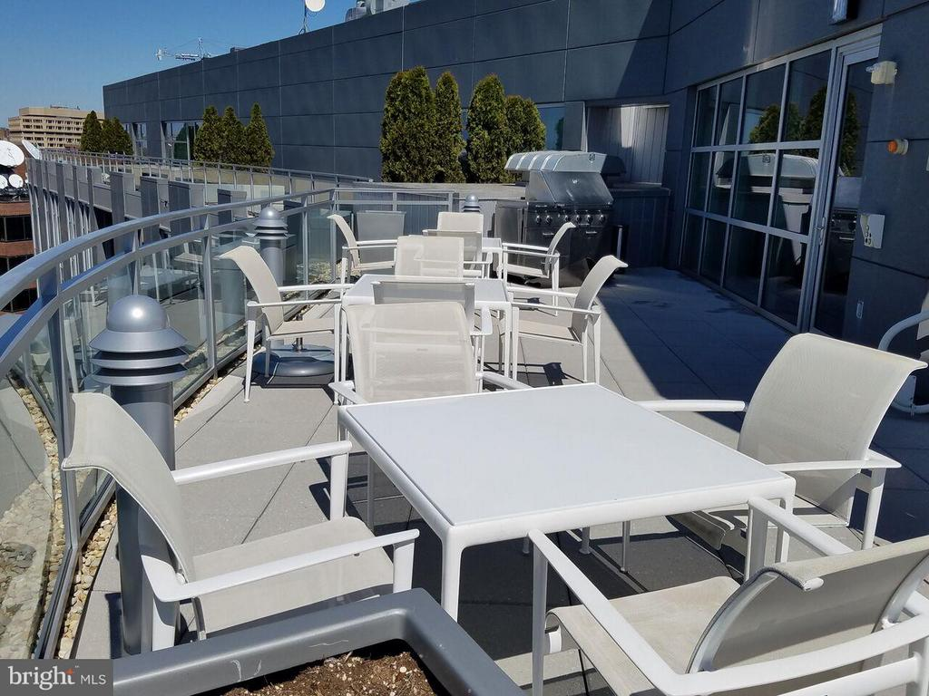 Roof entertainment area w/Grill - 1177 22ND ST NW #3F, WASHINGTON
