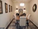 Dining Room - 210 LONG POINT DR, FREDERICKSBURG