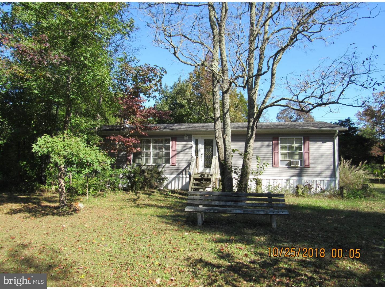 Частный односемейный дом для того Продажа на 143 NEWELL Road Heislerville, Нью-Джерси 08324 Соединенные Штаты
