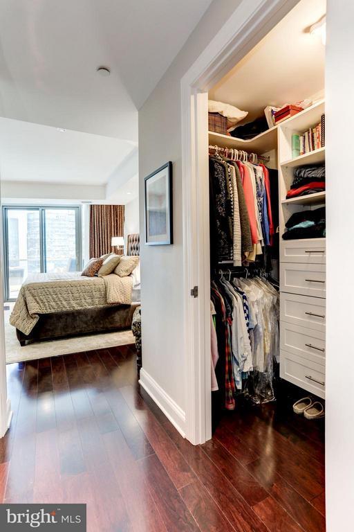 Customized Walk-In Closet - 1881 NASH ST N #1605, ARLINGTON