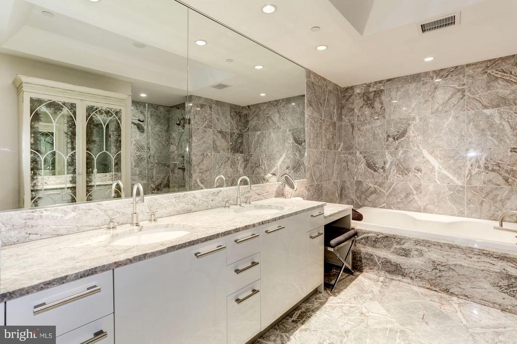 Master Bath With European Marble - 1881 NASH ST N #1605, ARLINGTON