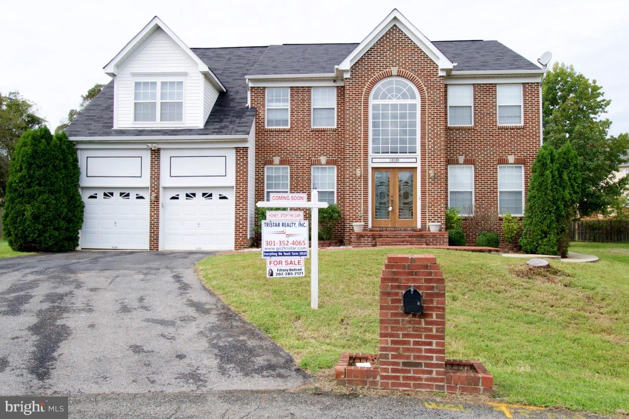 Photo of home for sale at 10100 Idaho Place, Upper Marlboro MD