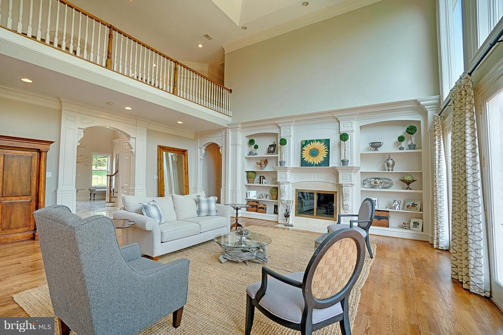 Family Room - 16730 WHIRLAWAY CT, LEESBURG