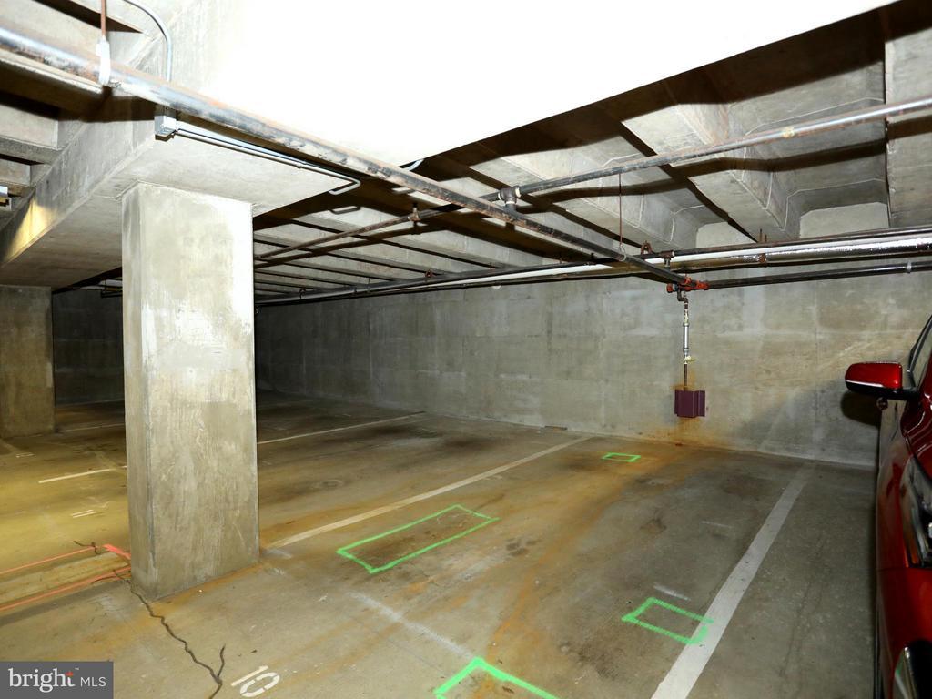 Parking Space #10 Conveys with the Unit - 2400 CLARENDON BLVD #503, ARLINGTON