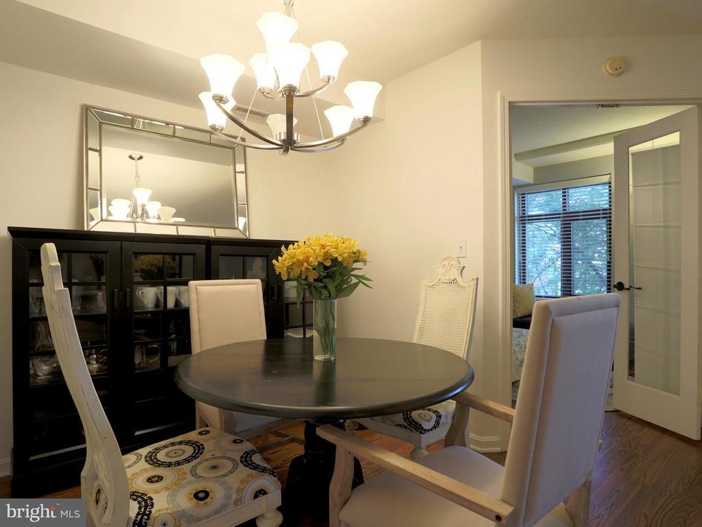 Dining Room - 2400 CLARENDON BLVD #503, ARLINGTON