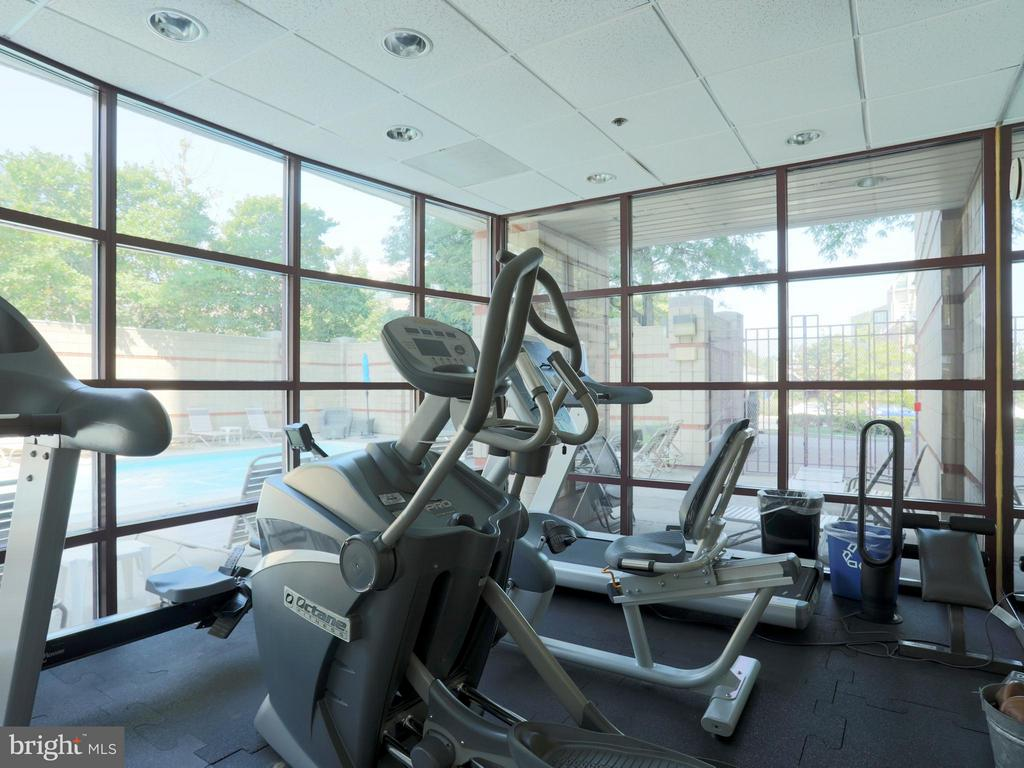 Gym is Included in your Condo Fee - 2400 CLARENDON BLVD #503, ARLINGTON