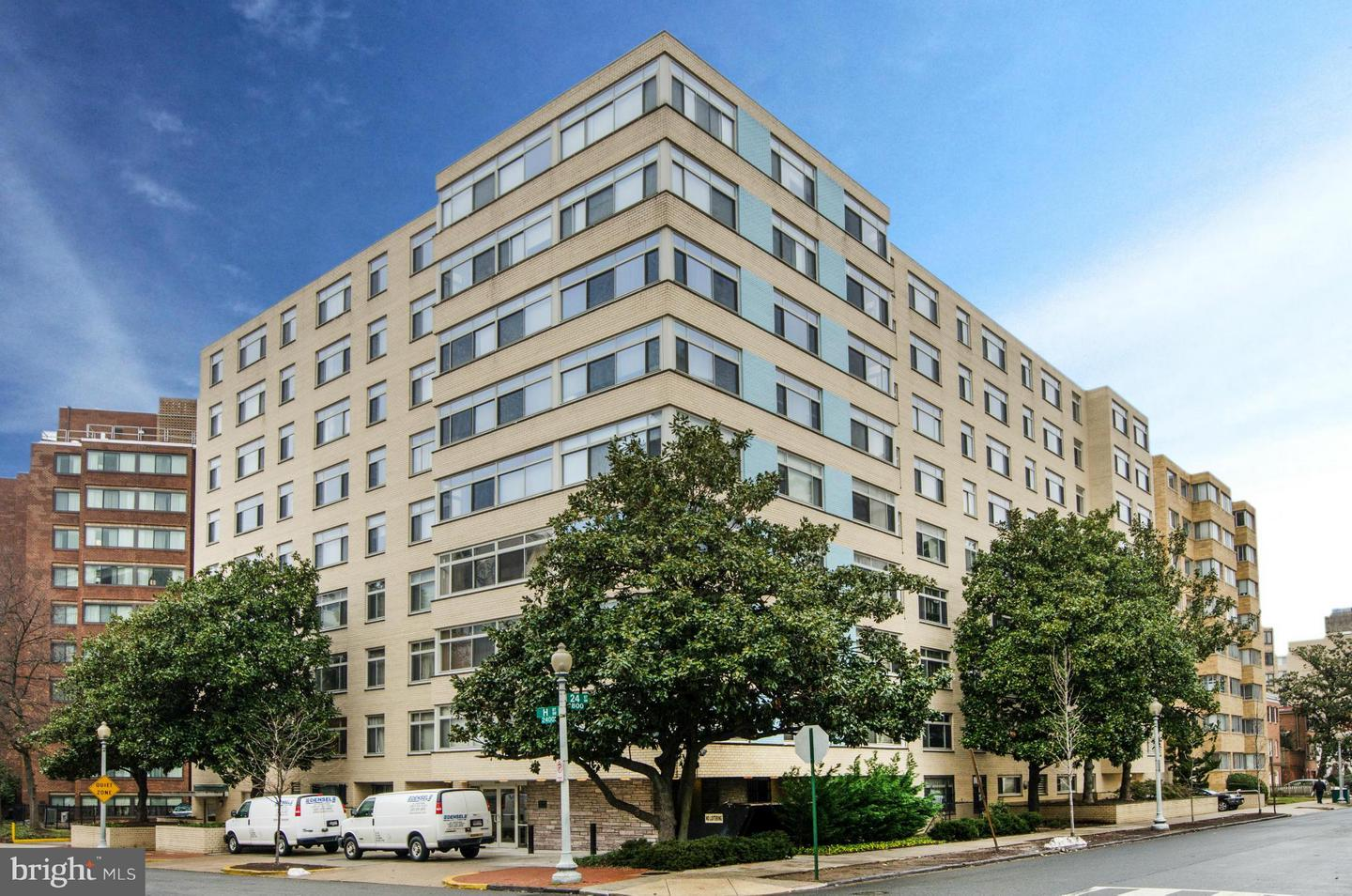 Photo of home for sale at 2401 H Street Nw, Washington DC