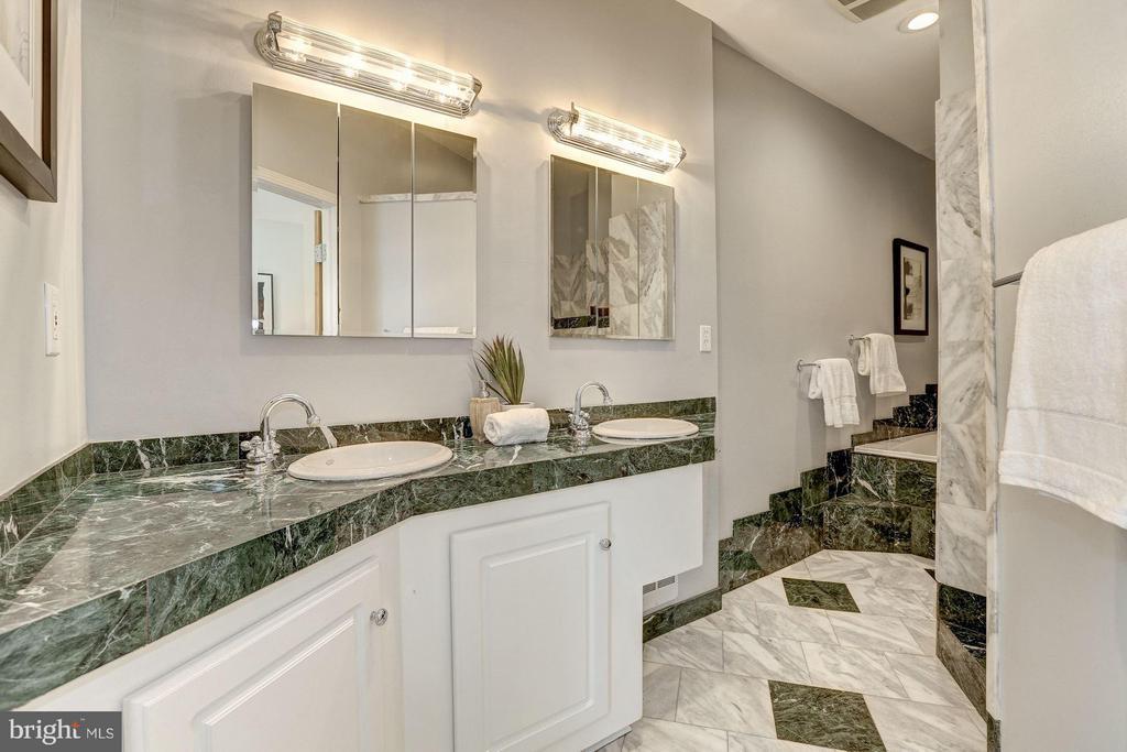 Master Bathroom has dual sinks - 1107 P ST NW, WASHINGTON