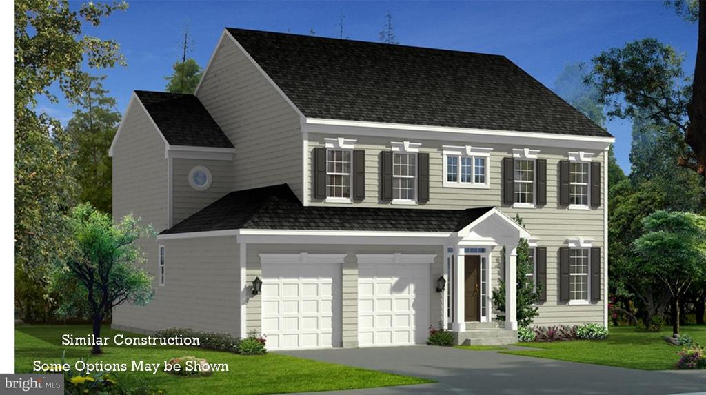 Exterior (Front)** SIMIILAR CONSTRUCTION** - 0 STRATHMORE WAY #BELMONT PLAN, MARTINSBURG