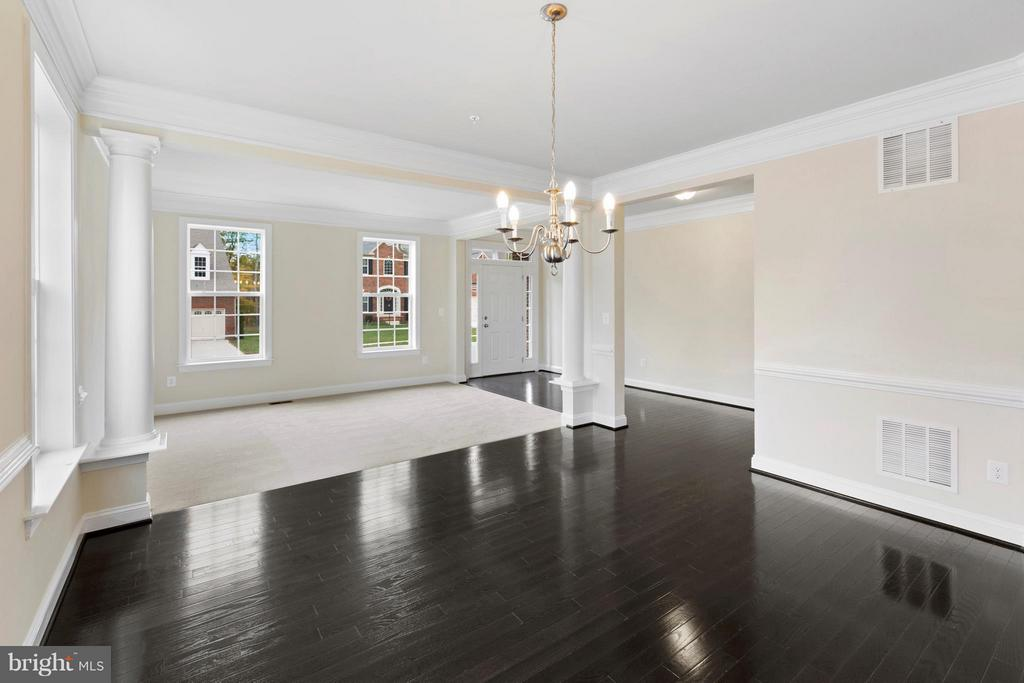 Dining Room ** SIMIILAR CONSTRUCTION** - 0 STRATHMORE WAY #BELMONT PLAN, MARTINSBURG