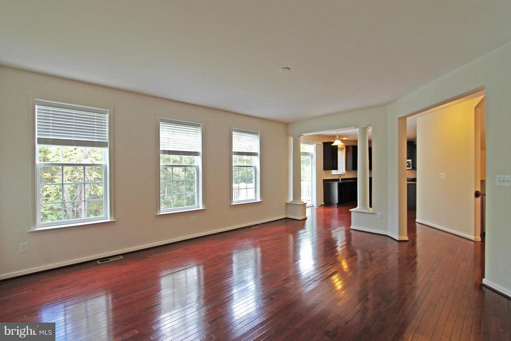Family Room similar construction - 0 STRATHMORE WAY #BELMONT PLAN, MARTINSBURG