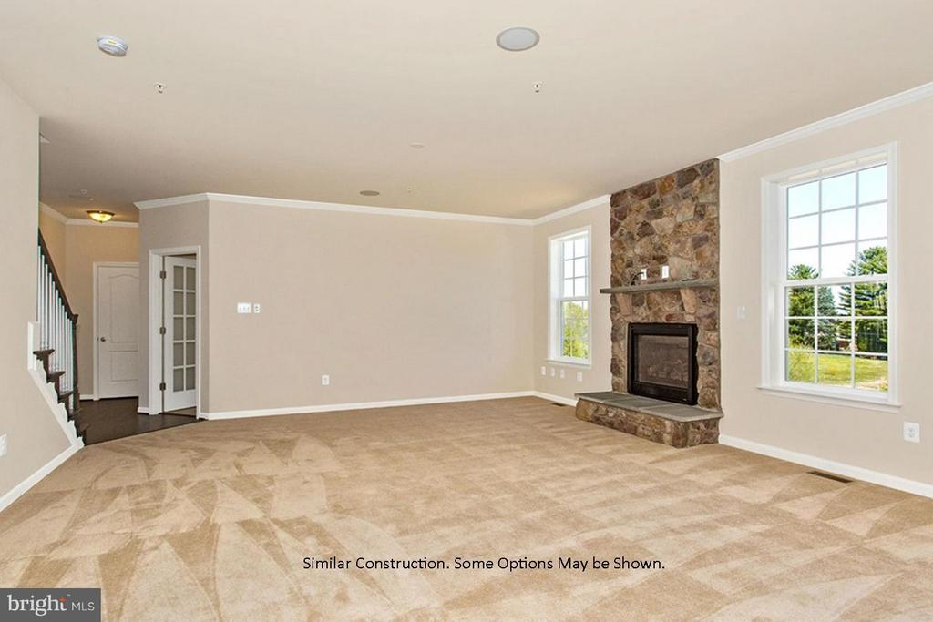 Family Room similar construction - 0 STRATHMORE WAY #CASTLEROCK PLAN, MARTINSBURG