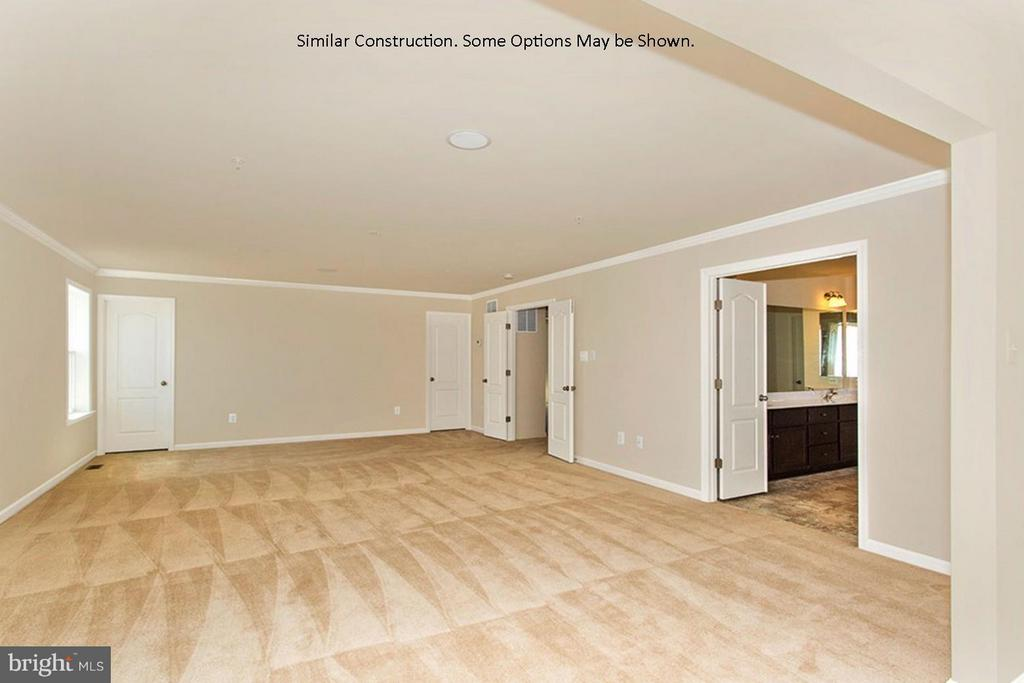 Bedroom (Master) - 0 STRATHMORE WAY #CASTLEROCK PLAN, MARTINSBURG