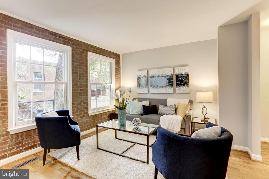 Living Room - 212 9TH ST SE, WASHINGTON