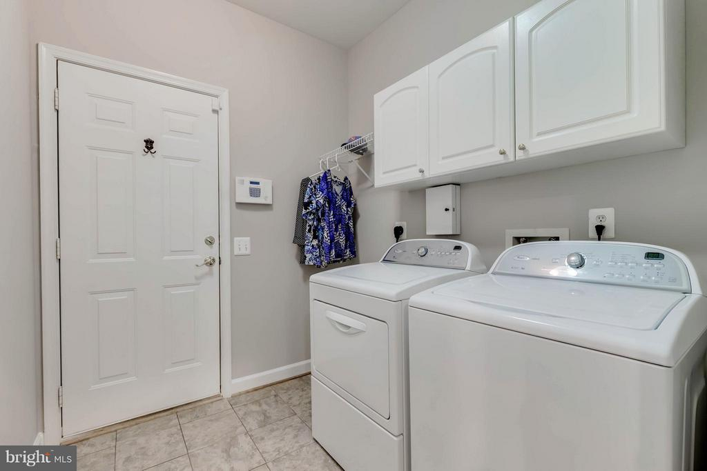 Laundry Room - W/D do not convey - 4305 MULCASTER TER, DUMFRIES