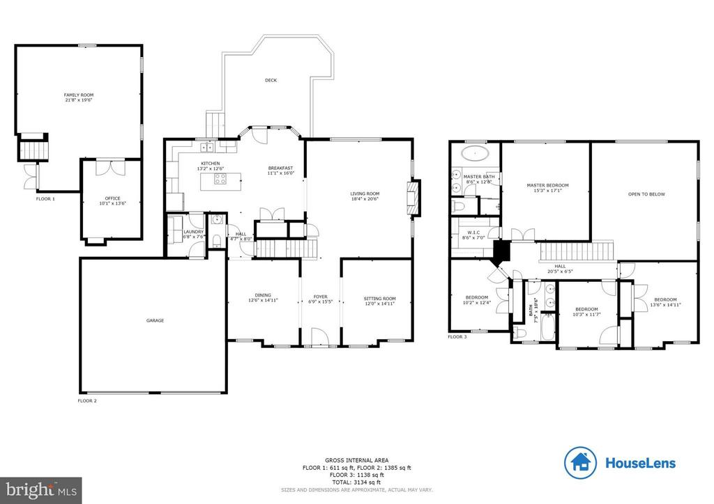 Floor Plan - 4305 MULCASTER TER, DUMFRIES