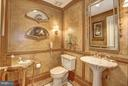 Powder room off foyer - 5630 WISCONSIN AVE #702, CHEVY CHASE