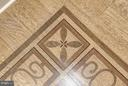 Details of flooring - 5630 WISCONSIN AVE #702, CHEVY CHASE