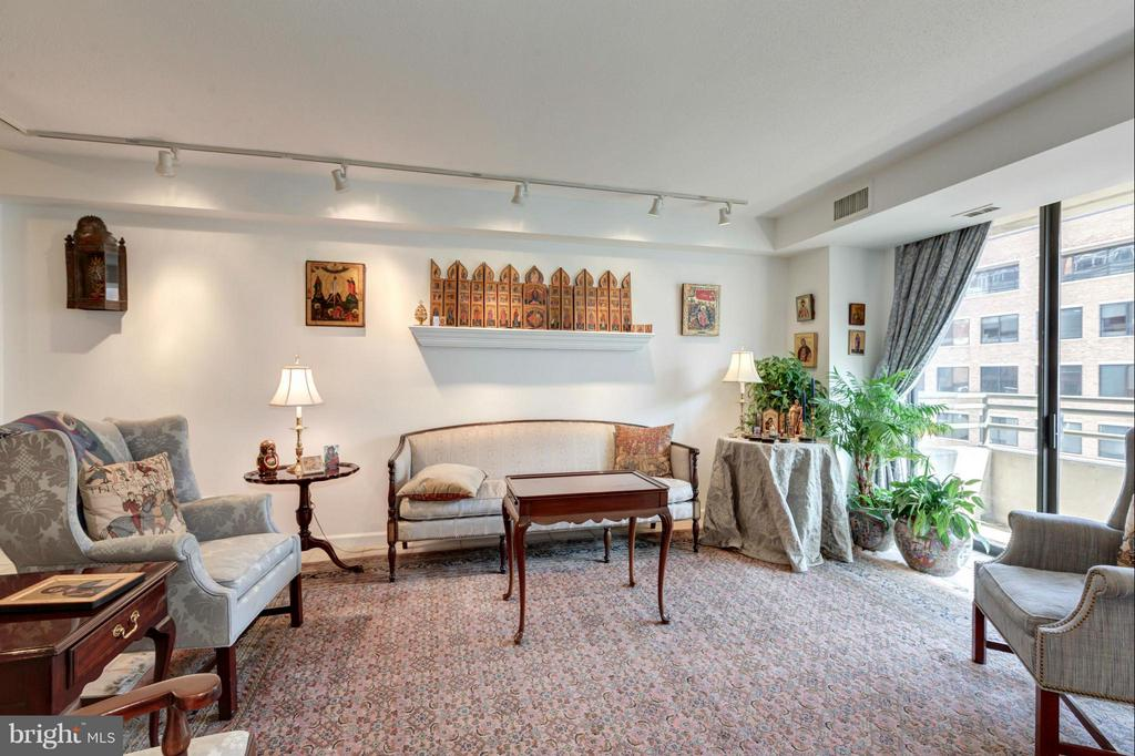 Living Room - 1200 23RD ST NW #704, WASHINGTON