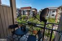 Balcony Overlooking Courtyard - 309 HOLLAND LN #236, ALEXANDRIA