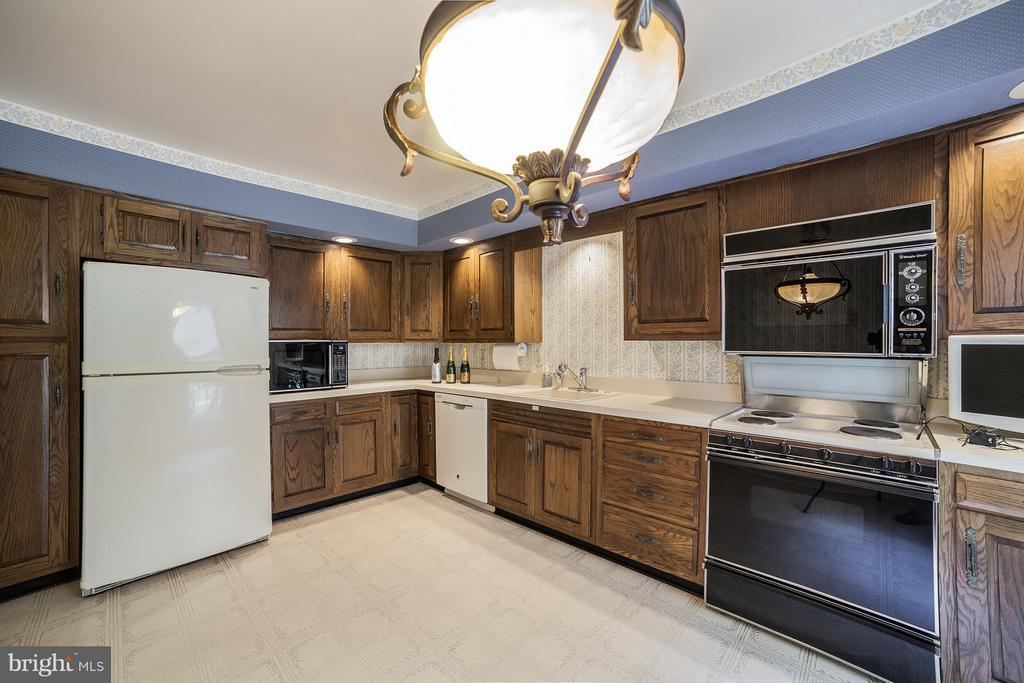 Kitchen - 10927 WICKSHIRE WAY #K-3, ROCKVILLE