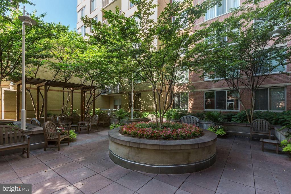 Courtyard - 1020 HIGHLAND ST #410, ARLINGTON
