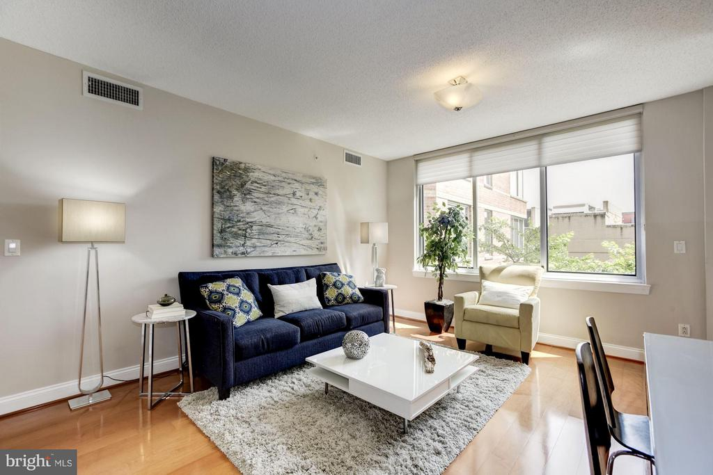A view of the tree tops - 1020 HIGHLAND ST #410, ARLINGTON
