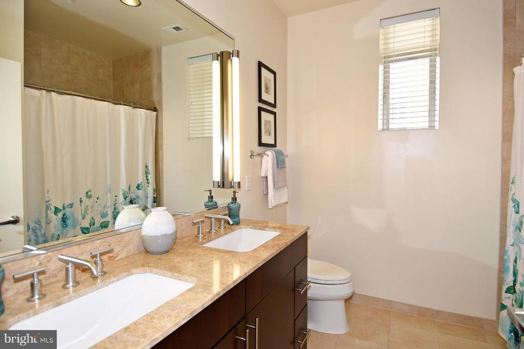 Double sinks in master bathroom - 6500 AMERICA BLVD #204, HYATTSVILLE