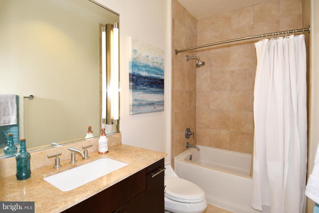 In-law suite bathroom - 6500 AMERICA BLVD #204, HYATTSVILLE