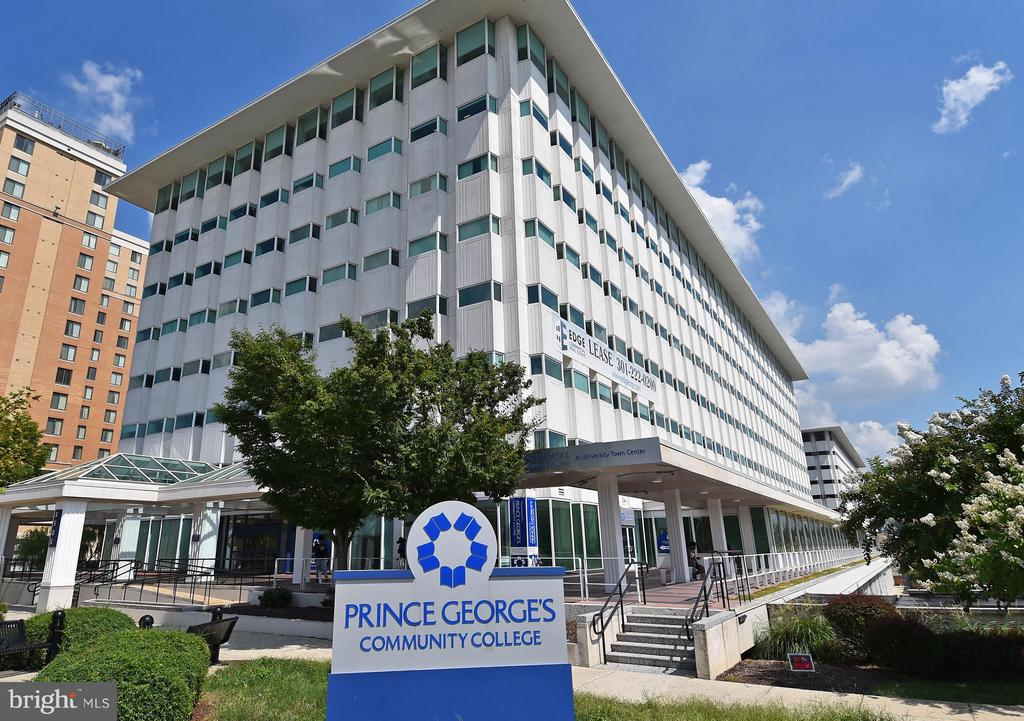 Prince Georges Community College is next door - 6500 AMERICA BLVD #204, HYATTSVILLE