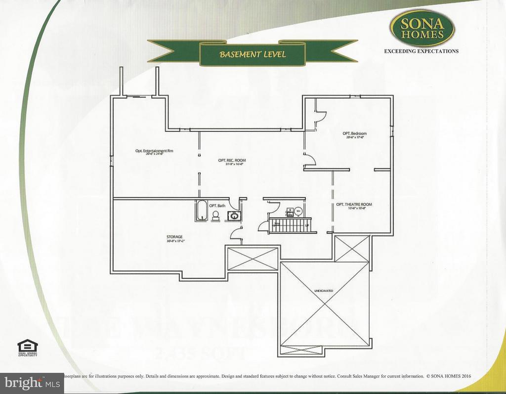 Basement Level - -LOT 6 MOUNT HOPE CHURCH RD, STAFFORD