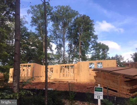 Framing starting-just look at those trees! - 3005 WEBER PL, OAKTON